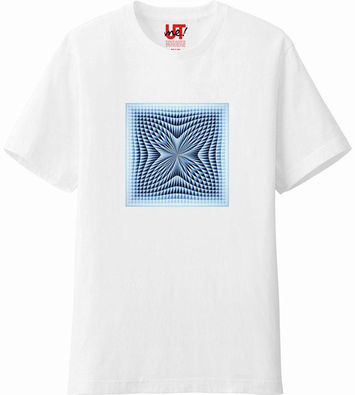 ブラインドチェックつまむ180117 (3)コントラスト‗Tシャツベーシック白