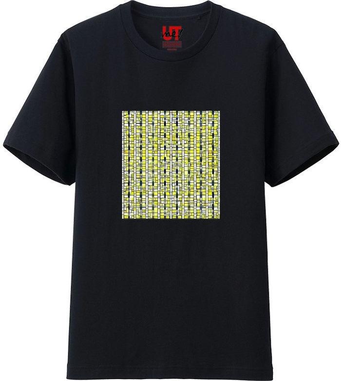 ポップアート_processed_01Tシャツベーシック黒