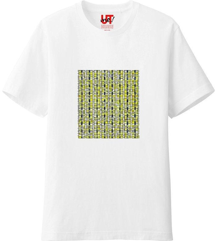ポップアート_processed_01Tシャツベーシック白