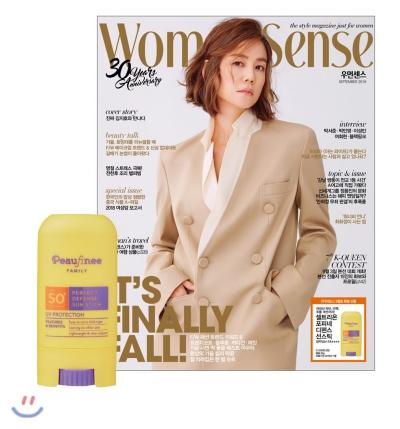 7_韓国女性誌_WOOMAN SENSE_ウーマンセンス_2018年9月号