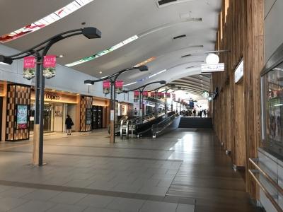 秋田駅通路
