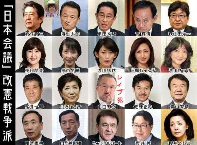 日本会議メンバー