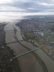 台風の余波2揖斐川と長良川