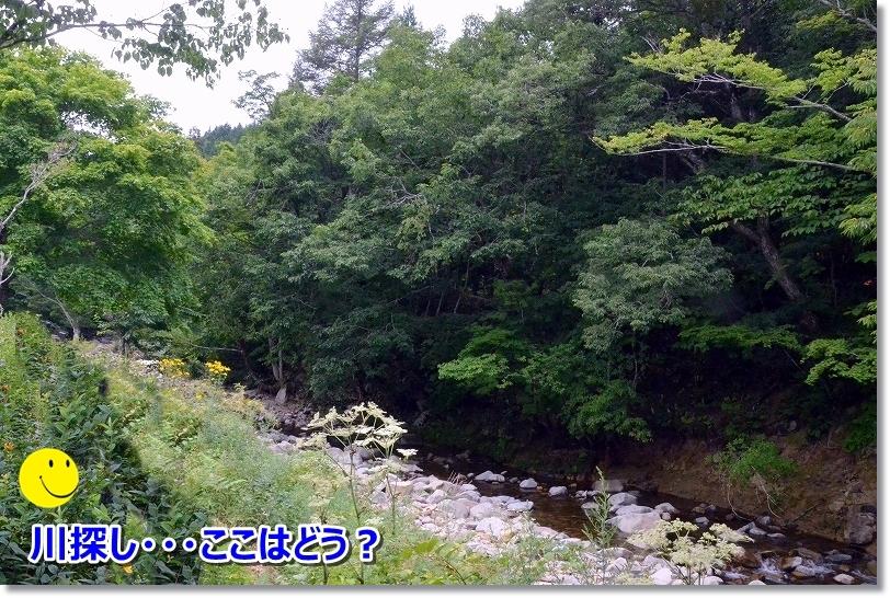 DSC_7215弁天荘をあとにして・・川探し♪