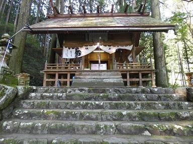 1-1下名栗諏訪神社本殿ー1-