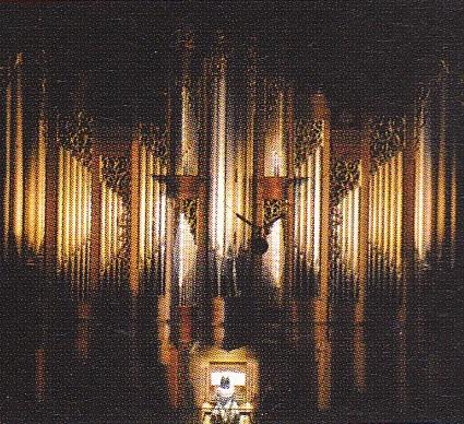 藝大 奏楽堂 パイプオルガン -2