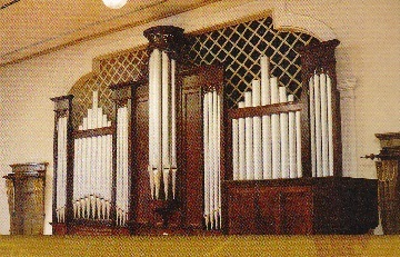 旧東京音楽学校 奏楽堂 パイプオルガン
