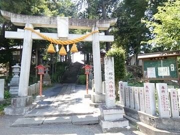 糀谷八幡神社鳥居 -