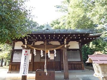 神社めぐり 7 熊野神社