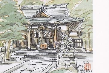 熊野神社 ポストカード