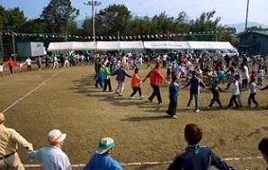 村の運動会