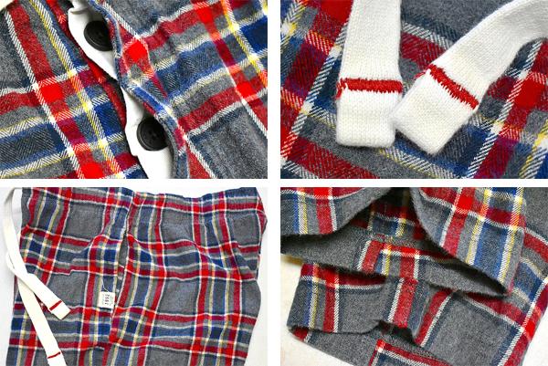 チェックパンツUSEDパジャマパンツ画像メンズレディースコーデ@古着屋カチカチ