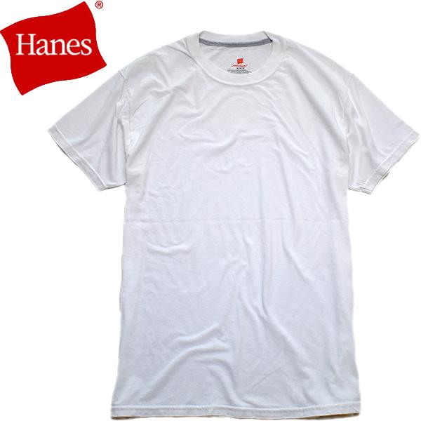 ヘインズHanes USA企画シンプル無地Tシャツ画像メンズレディースコーデ@古着屋カチカチ