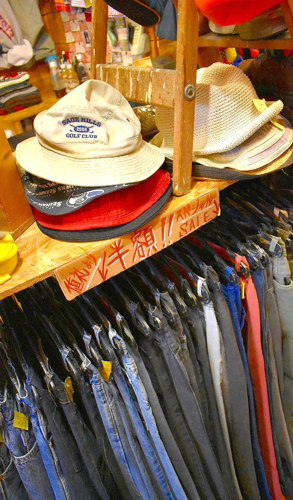 東京都北区の古着屋店内画像メンズレディースコーデ@カチカチ07
