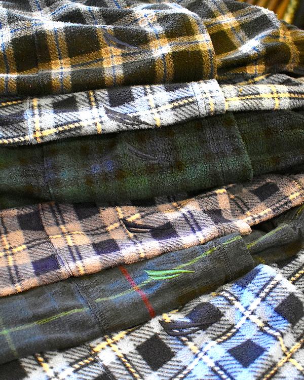 ノーティカNauticaパジャマパンツ画像フリースチェックパンツ@古着屋カチカチ05