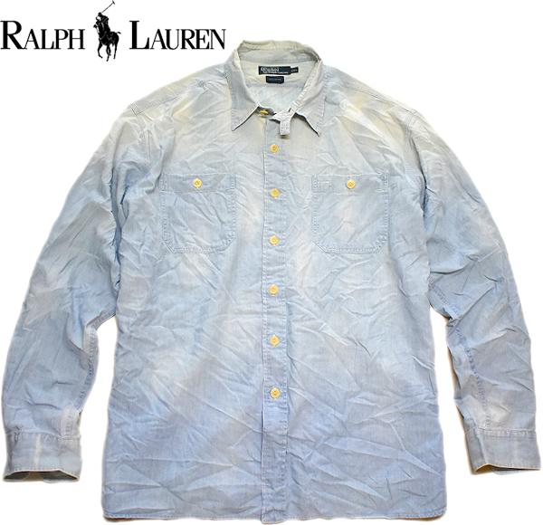 ラルフローレンPOLOビッグサイズシャツ画像メンズレディースコーデ古着屋カチカチ