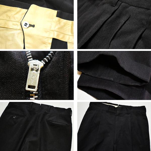 スラックスパンツSlacksドレスパンツ画像メンズレディーススタイルコーデ@古着屋カチカチ着こなし
