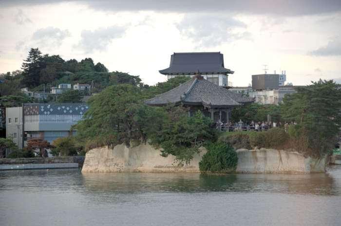 瑞巌寺五大堂遠景