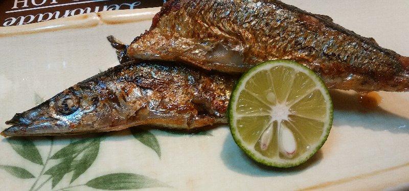 すだち秋刀魚