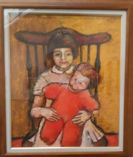 少女と人形