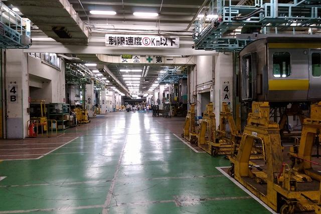 東京総合車両センター一般公開2018