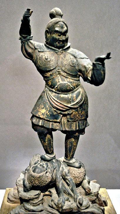 奈良時代の木心乾漆像と判明した、愛媛県大洲市・如法寺の毘沙門天像
