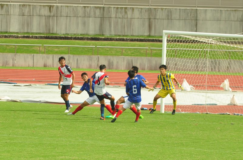 2018東海リーグ第13節vsChukyo univFC-1