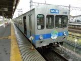 弘南鉄道7000系デハ7152 弘前駅にて