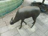 JR帯広駅 鹿の銅像2