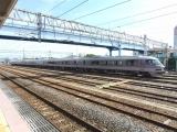 JR485系「リゾートエクスプレスゆう」 高萩駅にて