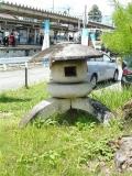 JR天竜峡駅 石灯篭