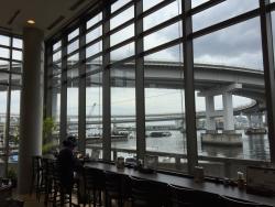 芝浦 湾岸食堂 窓からの展望2