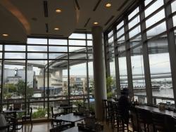 芝浦 湾岸食堂 窓からの展望1