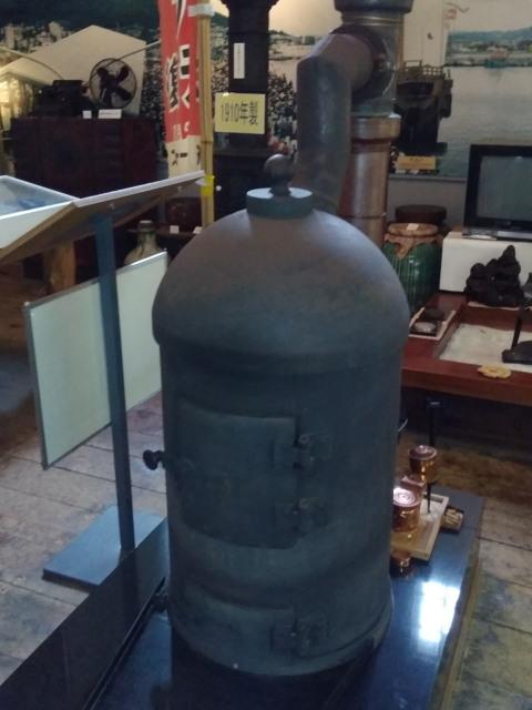 日本最古のストーブ0825