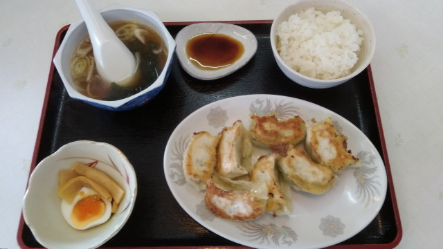 餃子定食0915