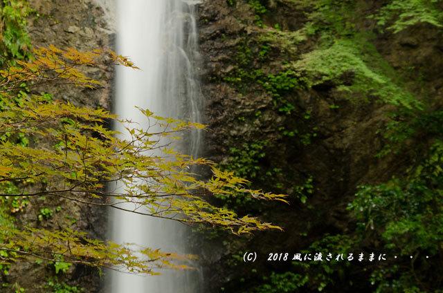 奈良・投石の滝( なげいしのたき) 2018年9月17日撮影4