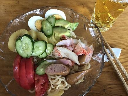 9202018 Lunch 冷麺S