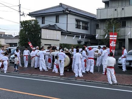 9222018 神田神社宵山西新開太鼓 S