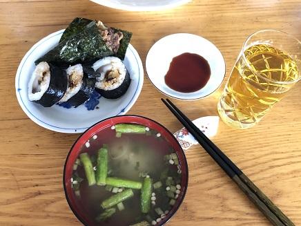 9232018 Lunch 海苔巻きS