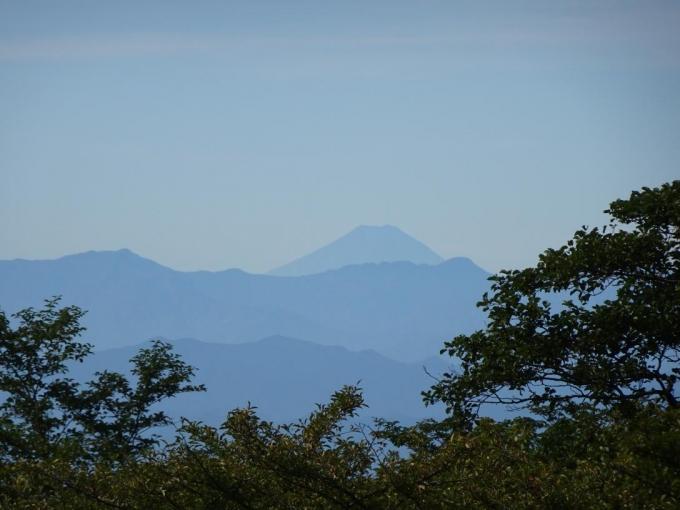 荒山高原からの富士山