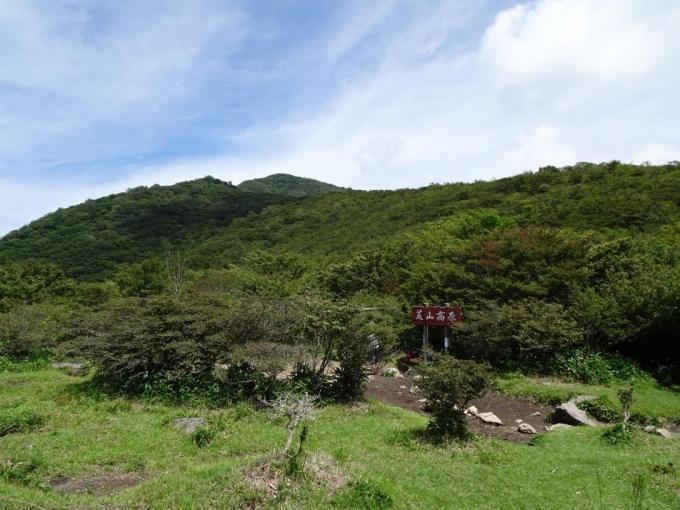 静かな荒山高原