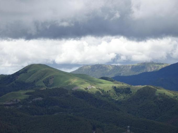 三峰山と美ヶ原