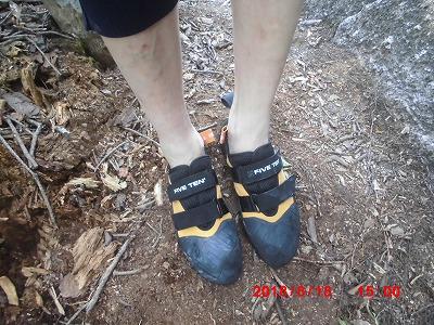 5=10の靴