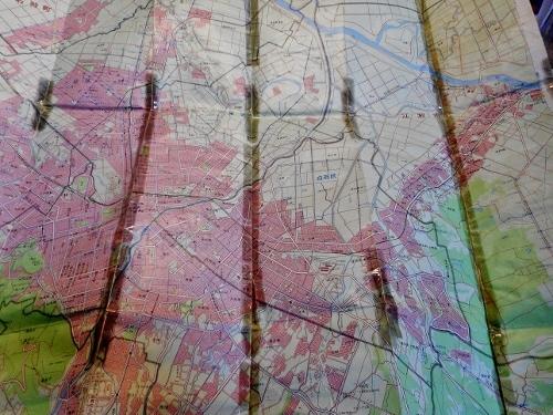 昭文社「エアリアマップ 札幌市街図」1977年