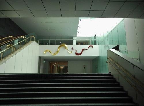 創世スクエア 市民交流複合施設への入口