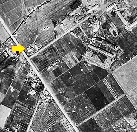 空中写真 1948年 月寒東 Nさん宅周辺