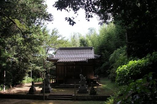 天神垣神社の拝殿