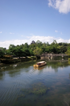 普通に松江城のお堀