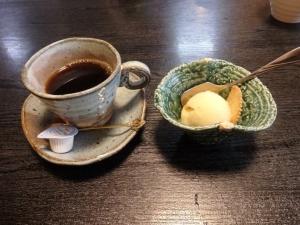 珈琲とデザート