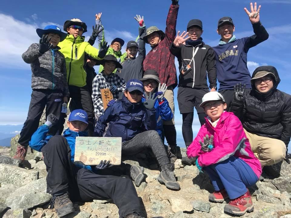 富士の折立登頂